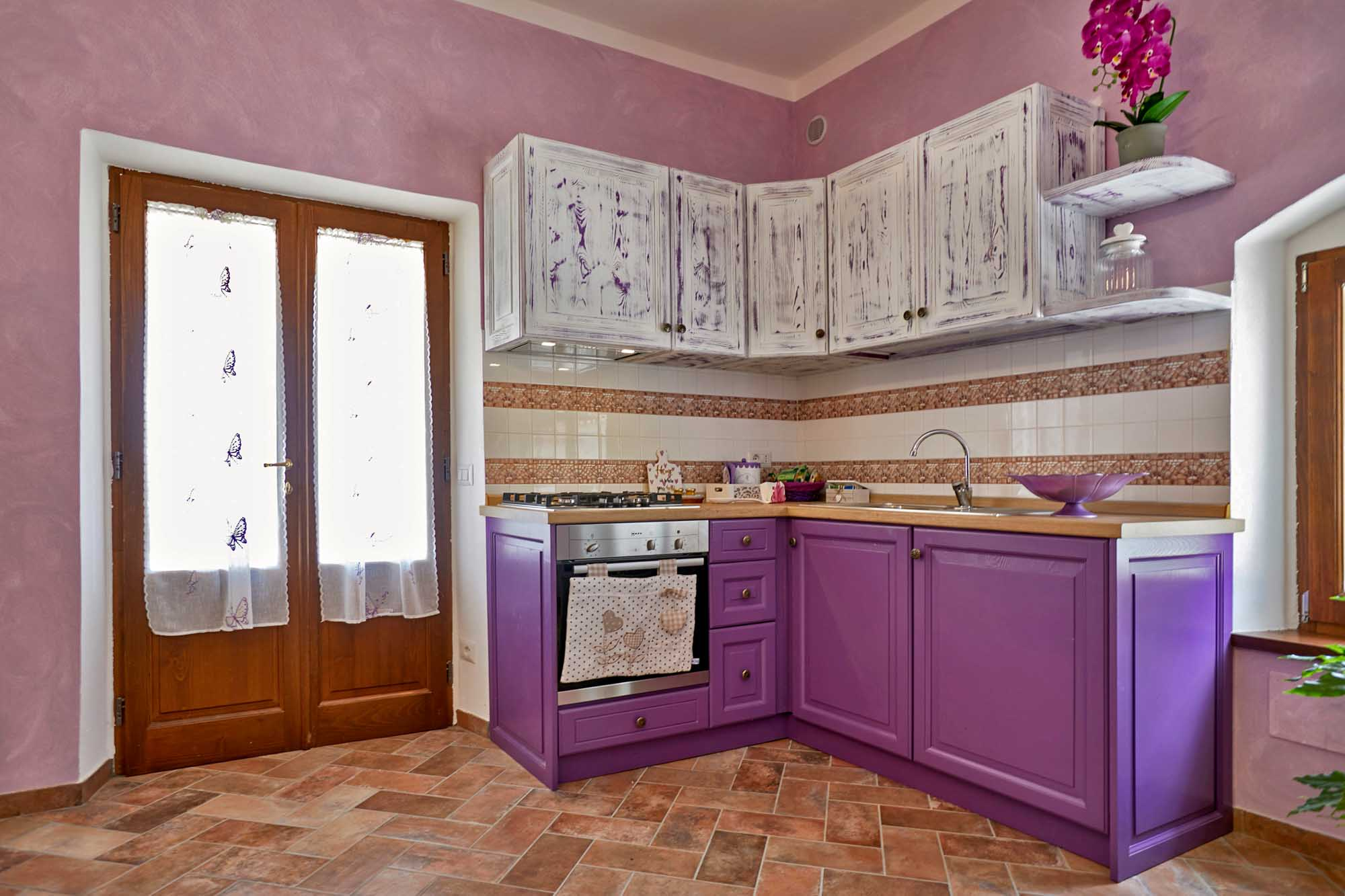 cucina lilla